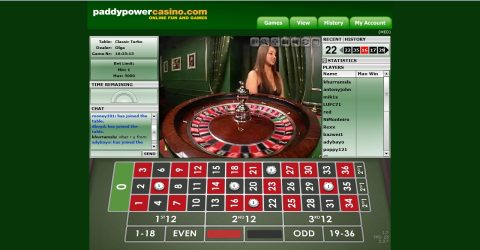 Paddy Power Online Casino Review Screenshot 3